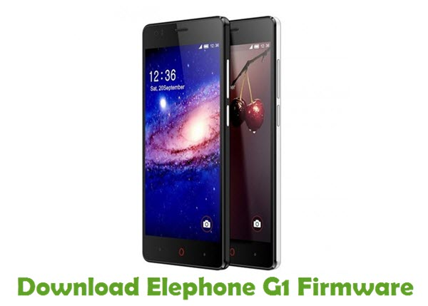 Download Elephone G1 Firmware