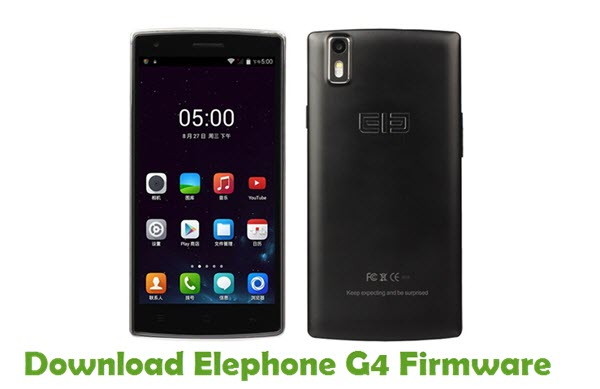 Download Elephone G4 Firmware