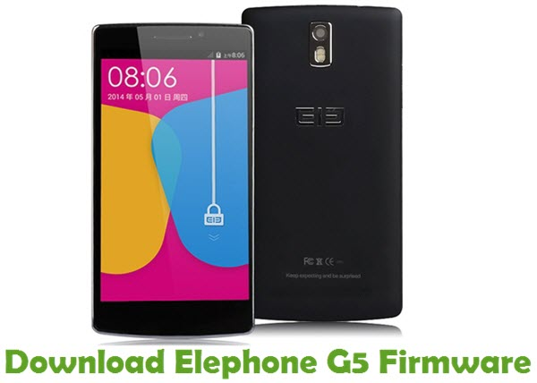 Download Elephone G5 Firmware