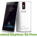 Elephone G6 Firmware