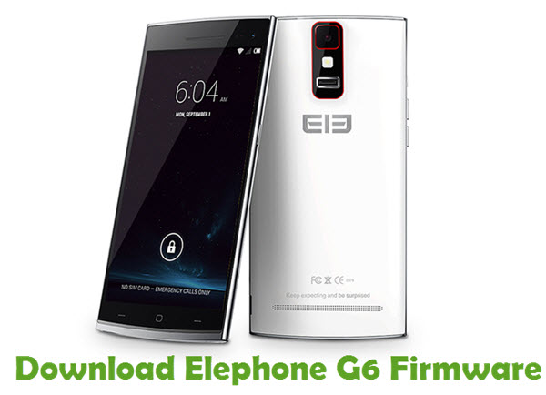 Download Elephone G6 Firmware