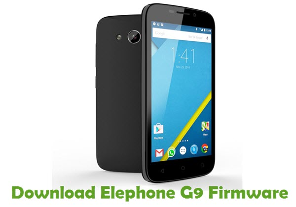 Download Elephone G9 Firmware