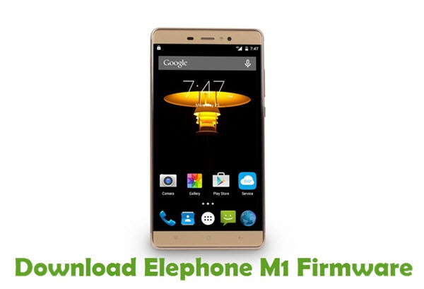 Download Elephone M1 Firmware