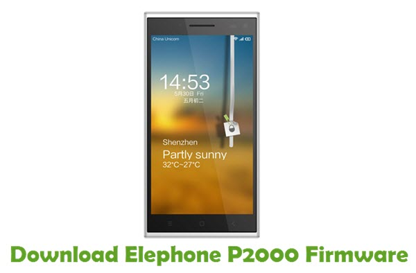 Download Elephone P2000 Firmware