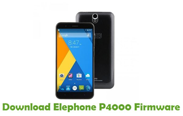 Download Elephone P4000 Firmware