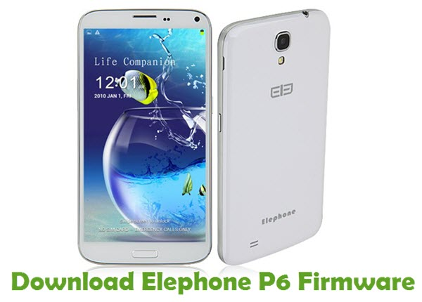 Download Elephone P6 Firmware