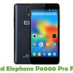 Elephone P6000 Pro Firmware