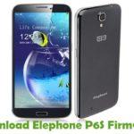 Elephone P6S Firmware