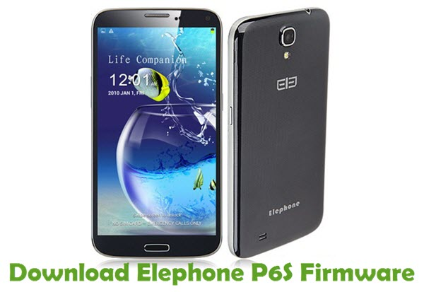 Download Elephone P6S Firmware