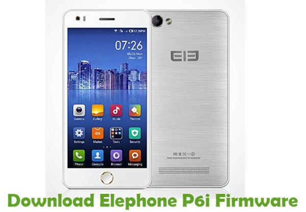Download Elephone P6i Firmware