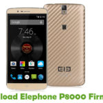 Elephone P8000 Firmware