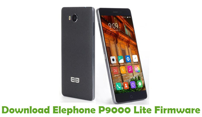Download Elephone P9000 Lite Firmware
