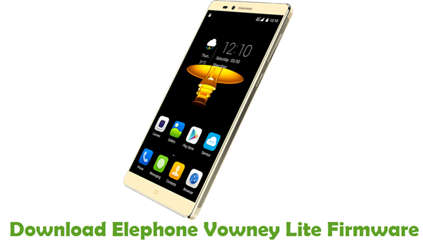 Download Elephone Vowney Lite Firmware