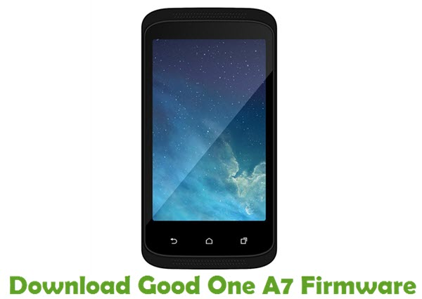 Download Good One A7 Firmware