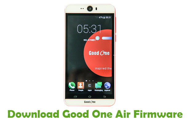 Download Good One Air Firmware