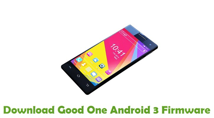 Download Good One Android 3 Firmware