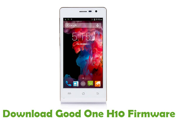 Download Good One H10 Firmware