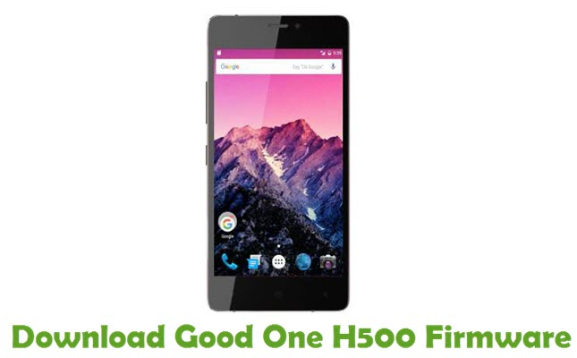 Download Good One H500 Firmware