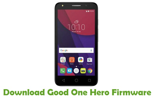 Download Good One Hero Firmware