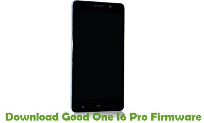 Download Good One I6 Pro Firmware