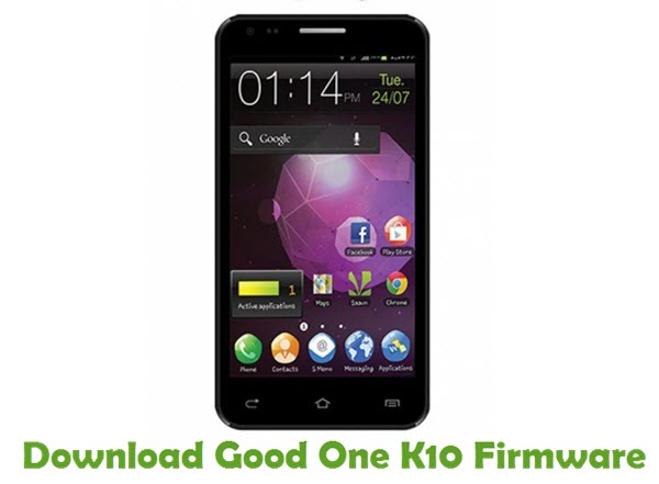Download Good One K10 Firmware