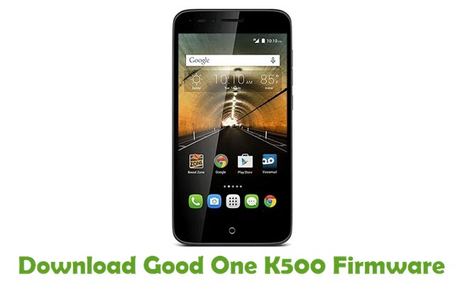 Download Good One K500 Firmware