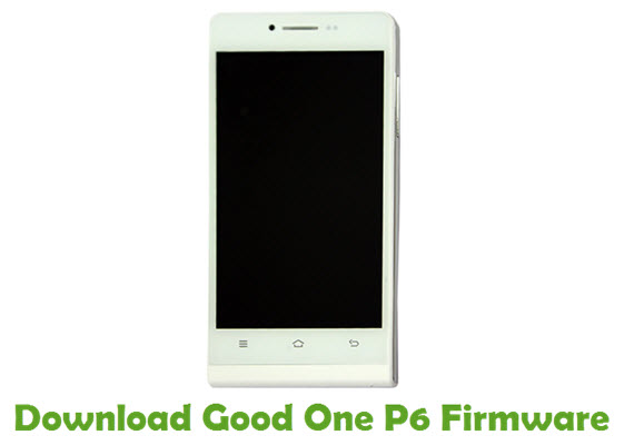 Download Good One P6 Firmware