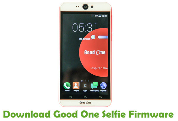 Download Good One Selfie Firmware