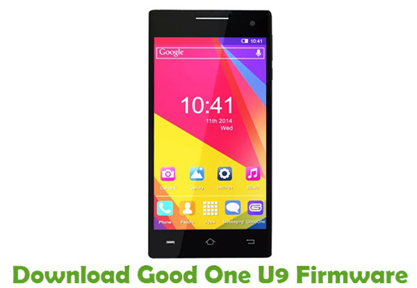 Download Good One U9 Stock ROM