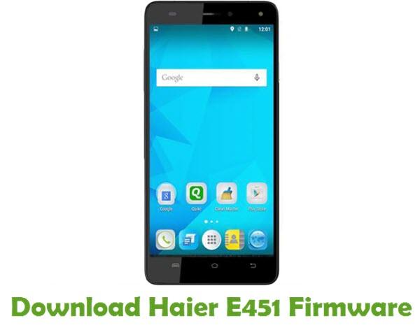 Download Haier E451 Firmware