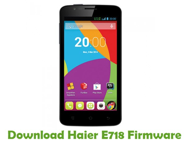 Download Haier E718 Firmware