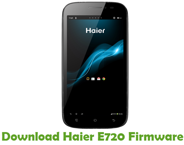 Download Haier E720 Firmware