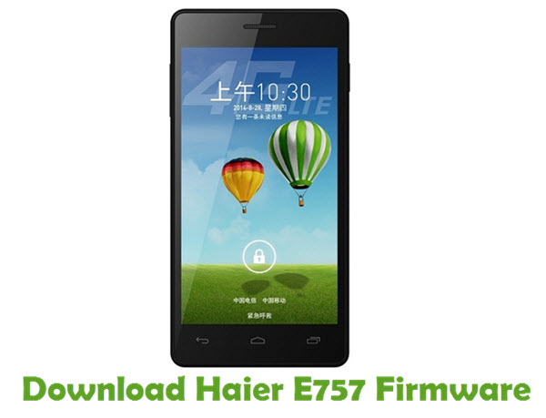 Download Haier E757 Firmware