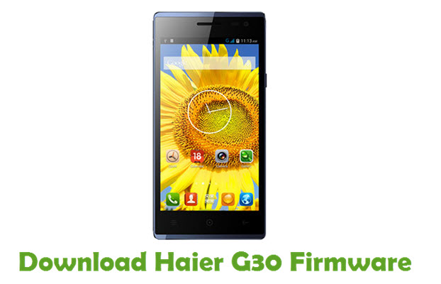 Download Haier G30 Firmware