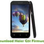 Haier G51 Firmware