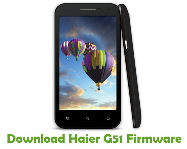 Download Haier G51 Firmware