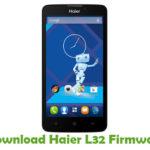 Haier L32 Firmware