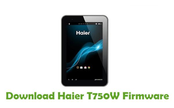 Download Haier T750W Firmware