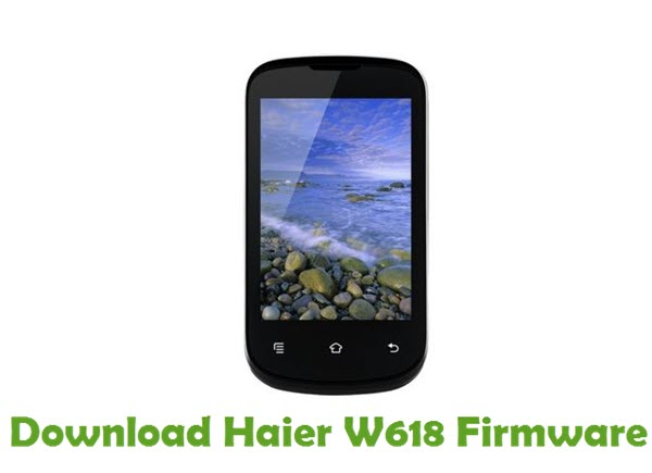 Download Haier W618 Firmware