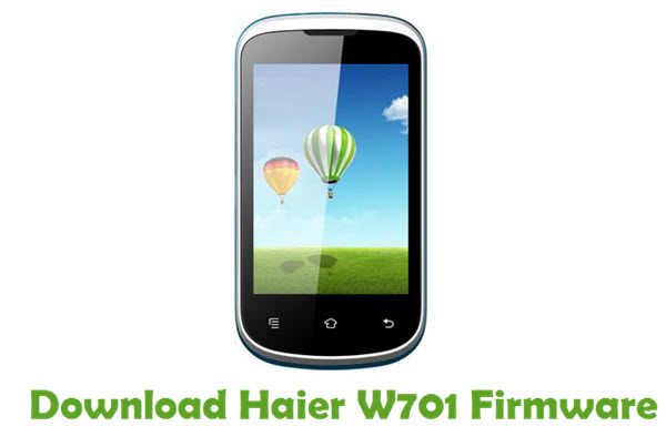 Download Haier W701 Firmware