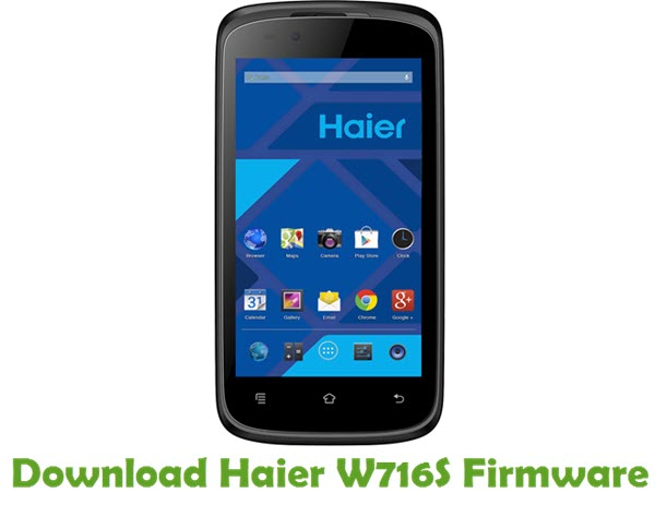 Download Haier W716S Firmware