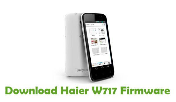 Download Haier W717 Firmware