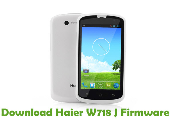 Download Haier W718 J Firmware