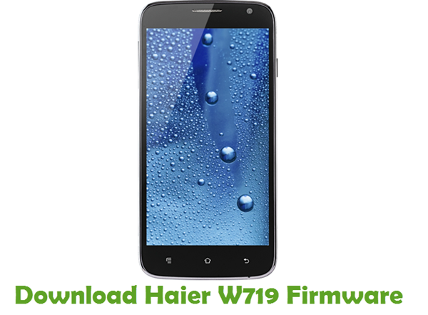 Download Haier W719 Firmware