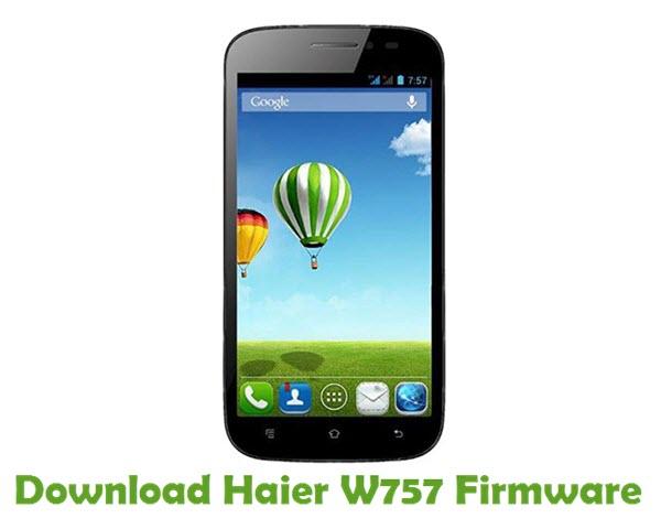 Download Haier W757 Firmware