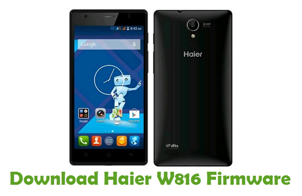 Download Haier W816 Firmware