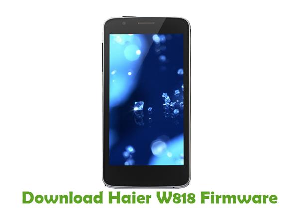 Download Haier W818 Firmware