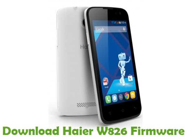 Download Haier W826 Firmware