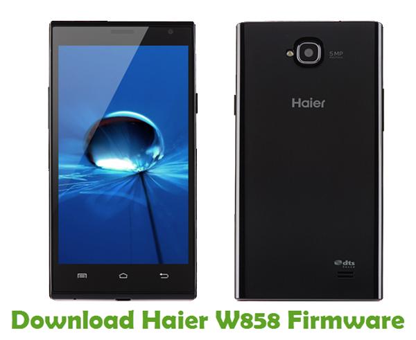 Download Haier W858 Firmware