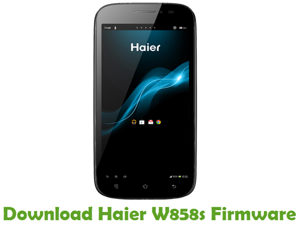 Download Haier W858s Firmware